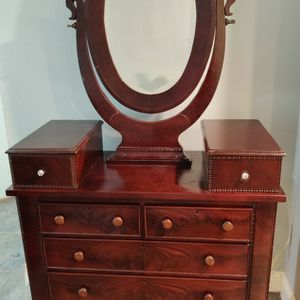 Antique Dresser With Mirror for Sale in Houston, TX