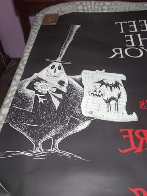 Nightmare Before Christmas Promotional poster for Sale in Valrico, FL