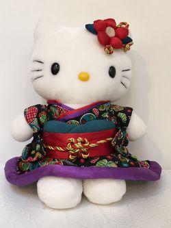 Vintage Hello Kitty Kimono Plush Doll Sanrio Japanesque Rare for Sale in Issaquah,  WA