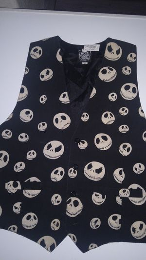Nightmare before Christmas Jack Vest Vintage for Sale in Scottsdale, AZ