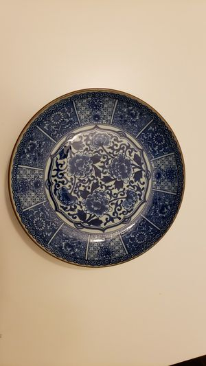 Andrea by Sadek Peonies Plate with stand for Sale in Fairfax, VA