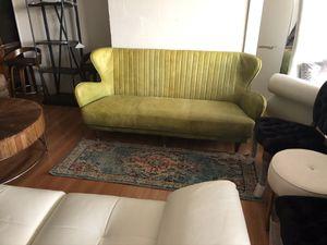 Brand New Retro Style Leather Sofa for Sale in Virginia Beach, VA