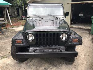 1998 Jeep Wrangler 108k Miles for Sale in Tampa, FL