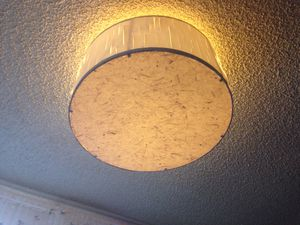 Large paper ceiling light shade for Sale in Seattle, WA