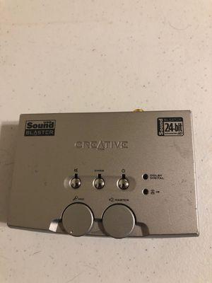Creative usb sound blaster model SB0300 for Sale in Plano, TX