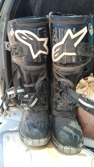 Motorcycle boots, size 9 for Sale in Wellington, CO