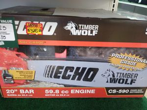 Echo Timberwolf Chainsaw for Sale in Sebring, FL