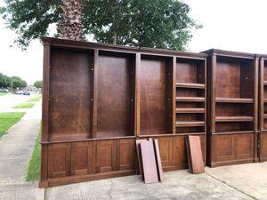 Large bookshelves for Sale in Rosharon, TX