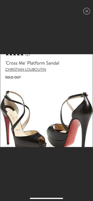 NIB christian louboutin heels for Sale in San Leandro, CA