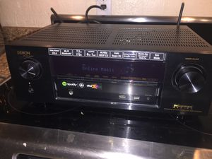 Demon in command avr x1200w 4k ultra hd receiver with Dolby atoms and dts X Wifi stereo audio video for Sale in Scottsdale, AZ