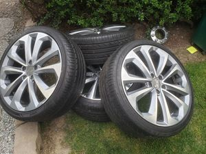 wheels and tires 20 5x114.3 same as 5x4.5 for Sale in Renton, WA