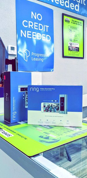 Ring Video Doorbell Pro Wired Wi-Fi Compatibility Smart Video Doorbell Camera! Brand New Sealed! One Year Warranty! for Sale in Arlington, TX