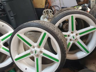 24inch Irocs Chevy bolt pattern for Sale in Springfield,  IL