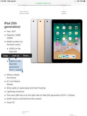 Verizon iPad for Sale in Port Orchard, WA
