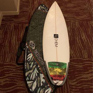 Chemistry Surfboard And Dakine Boardbag for Sale in San Diego, CA