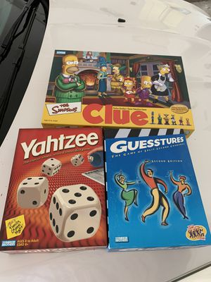 Board games for Sale in Fort Worth, TX