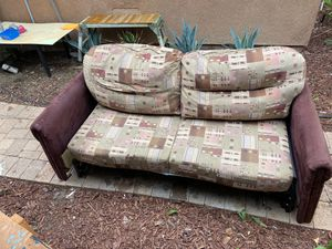 FREE Jack knife convertible couch bed for RV or trailer. for Sale in Winchester, CA