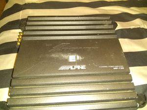 ILPINE radio V-Power amp for Sale in San Antonio, TX