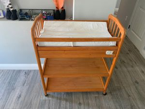 Baby changing table with wheels for Sale in Alta Loma, CA