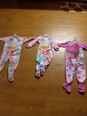 girl toddlers pajama jumpers for Sale in Springfield, TN