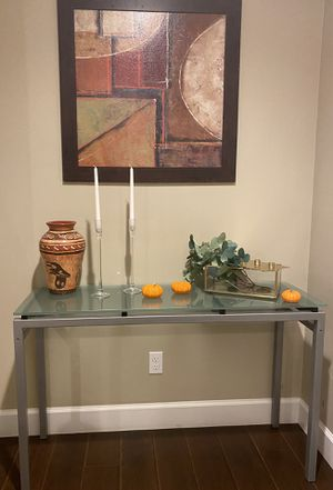 """Console table height: 30"""" width: 16"""" length: 48"""" for Sale in Sacramento, CA"""