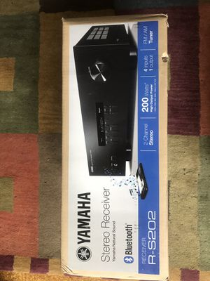 YAMAHA BLUETOOTH STEREO RECEIVER for Sale in Boston, MA