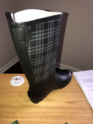 Rubber boots, rain boots for Sale in Manchester, TN