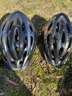 3 BICYCLE helmets — 2 adult / 1 child for Sale in Accokeek, MD