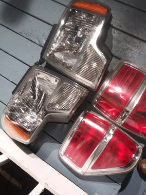 F150 headlights taillights for Sale in Detroit, MI