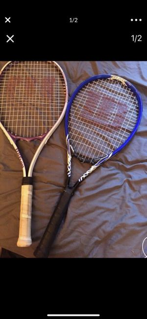 2 Tennis rackets name brand for Sale in Los Angeles, CA
