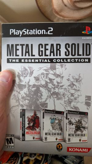 PS2 Metal Gear Solid the Essential Collection for Sale in Orange, CA