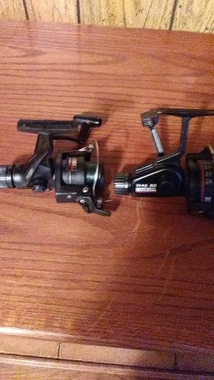 Two bass fishing reels for Sale in Stockton, CA