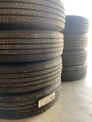 Semi truck trailer tires for Sale in Fresno, CA