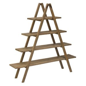 4-Shelf Wooden Display Ladder for Sale in Spring Hill, TN