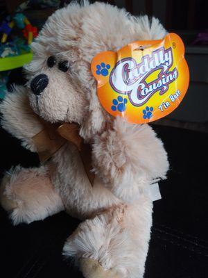 New Cuddly Cousins Stuffed Teddy Bear for Sale in Cranston, RI