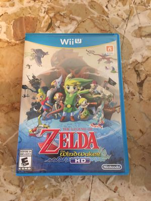 The Legend of Zelda Wind Waker HD Nintendo Wii U like new for Sale in San Antonio, TX