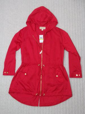 Michael Kors rain jacket. Size M women's. Red. Brand new with tags. Retail $160 for Sale in Portsmouth, VA