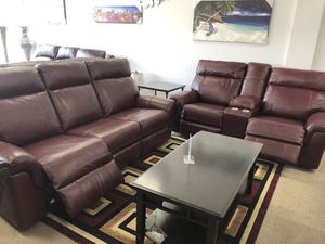 Power recliner power headrest with usb sofa and loveseat for Sale in Elgin, IL