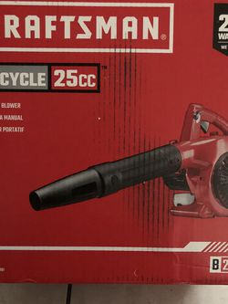 CRAFTSMAN BLOWER 2 CICLE GAS BRAND NEW for Sale in Vallejo,  CA