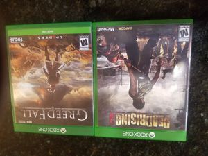 Xbox one Dead Rising 2 and Creedance fall for Sale in Menifee, CA