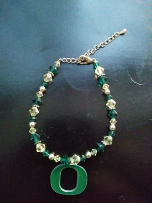 Oregon Ducks beaded bracelet. for Sale in Portland, OR