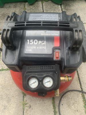 Porter cable air compressor for Sale in Sebastian, FL