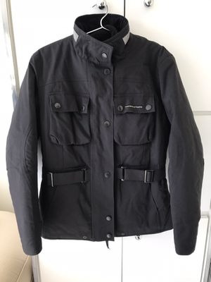 Italian Motorcycle Jacket with elbow guards and removable vest for Sale in Hallandale Beach, FL
