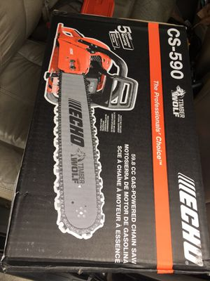 """Echo 20"""" gas chainsaw for Sale in Los Angeles, CA"""