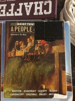A people &a nation college history book for Sale in Fontana, CA