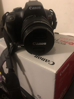 Canon T6i with box for Sale in Chevy Chase, MD
