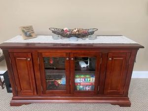 TV, Media Console with storage. for Sale in Bellingham, MA