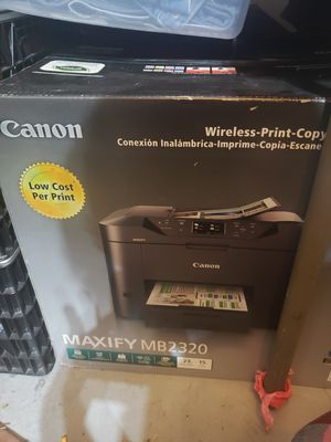 Canon printer new mb2320 for Sale in Colorado Springs, CO