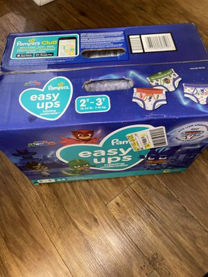Pamper Pull UPS New Box 84count 2T-3T for Sale in Garland, TX