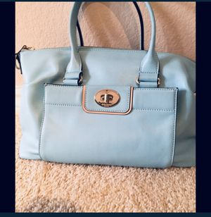 Kate Spade Caribbean blue handbag/purse for Sale in Coppell, TX
